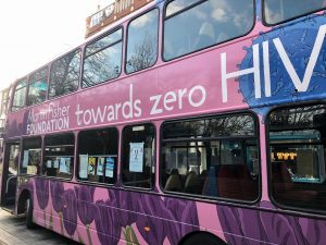 WAD 2019 The Martin Fisher Foundation Bus outside the Theatre Royal 3