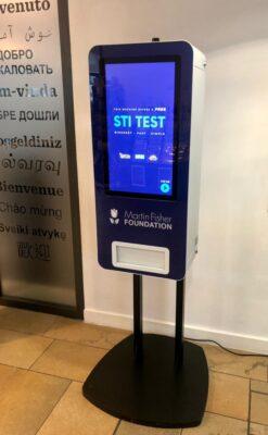 Martin Fisher Foundation Vending machine3