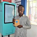 the Martin Fisher Foundation Vending machine in Zambia