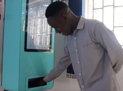 The Martin Fisher Foundation launches new HIV vending machines in Lusaka