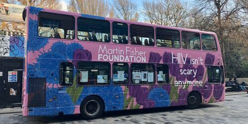 WAD 2019 The Martin Fisher Foundation Bus outside the Theatre Royal 1